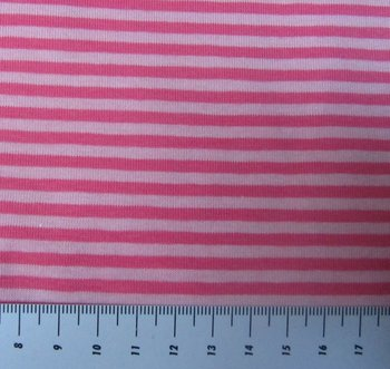 Gitta: strepentricot roze-lichtroze /160 breed