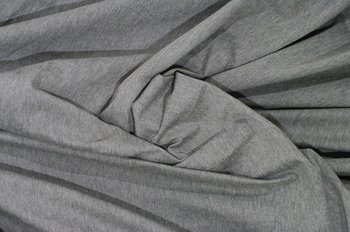 Gitte melange: tricot grijs gemêleerd / 160cm breed
