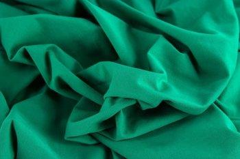 Gitte: tricot 160cm breed, smaragd
