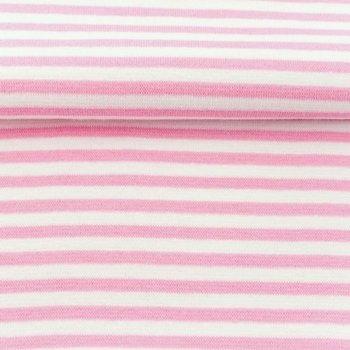 fijne boordstof licht(oud)roze /wit