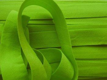 omvouwelastiek 2 cm lime
