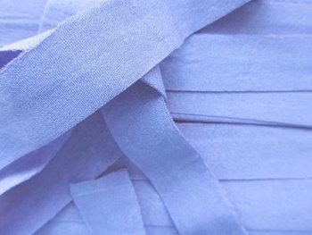omvouwelastiek 2 cm lichtblauw
