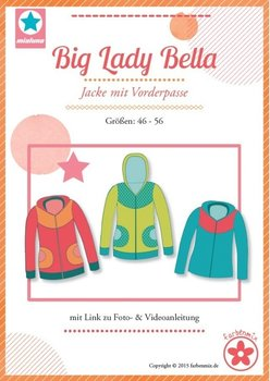 Big Lady Bella, patroon van een vest