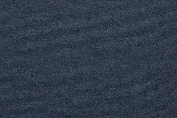 fijne boordstof jeansblauw geméleerd