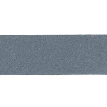 reflecterend band, effen donker zilver 2,5 cm
