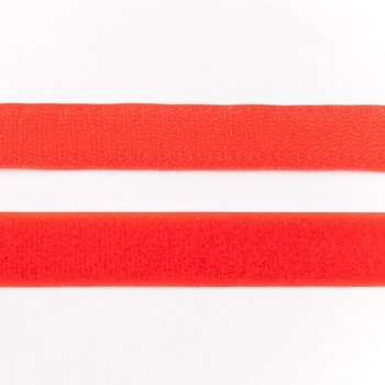 klittenband 25 mm breed rood