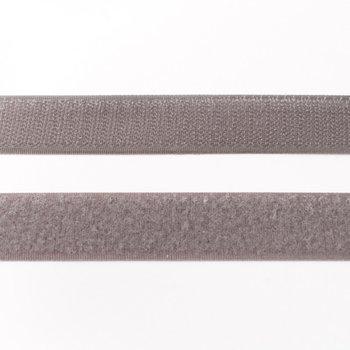 klittenband 25 mm breed grijs