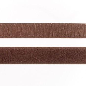 klittenband 25 mm breed bruin