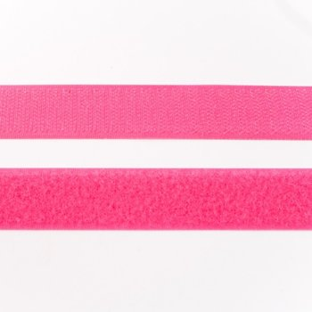 klittenband 25 mm breed fuchsia