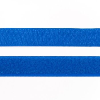 klittenband 25 mm breed blauw