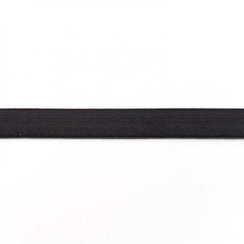 Elastiek 1,5 cm breed, zwart