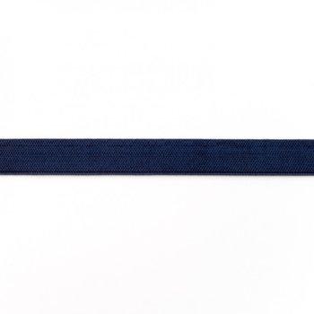 Elastiek 1,5 cm breed, donkerblauw