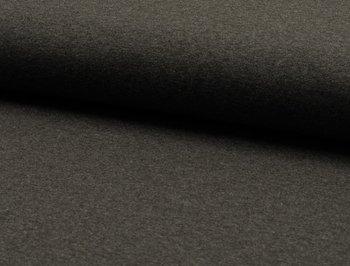 Tricot met stretch: grijs mèlange