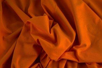 Gitte: tricot cognac-mosterd / 160cm breed