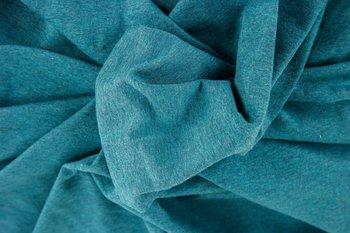 Jaro: gemêleerde tricot/petrol-grijs