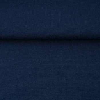 fijne boordstof donkerblauw