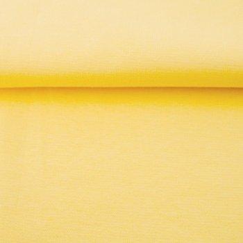 fijne boordstof lichtgeel/ 80 cm rondgebreid