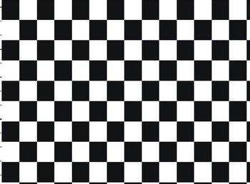 Vicente: schaakbord, blokjes tricot in zwart/wit