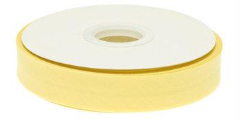 biaisband 20 mm, zacht geel
