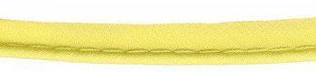 paspelband zacht geel katoen/polyester
