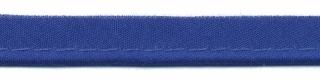 paspelband kobaltblauw katoen/polyester