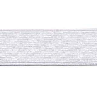 elastiek wit 3,2 cm breed