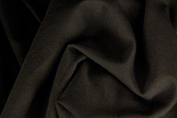 Heike: fijne boordstof mooi intens zwart (foto is van bijpassende Eike)