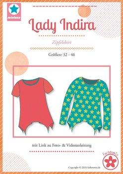 Lady Indira, A-lijn shirt in de maten 32 t/m 46