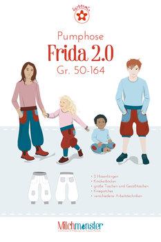 Frida 2.0 pofbroek, maat 50 t/m 164