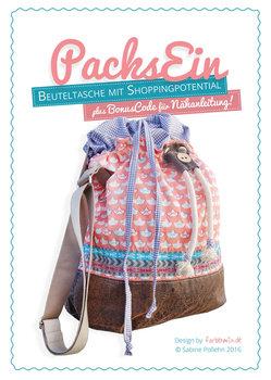 Packs Ein , papieren patroon van ronde tas die indien nodig, kan groeien!