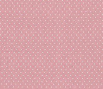 Verena: licht roze tricot met witte stippen