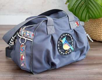 Rasmus: stof voor tassen en jassen grijs