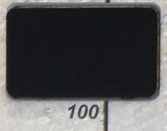 3 meter tricot biaisband zwart