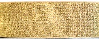 taille-elastiek 4 cm breed: goud /HALVE METER