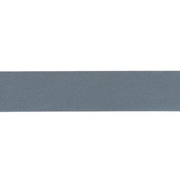 reflecterend band, effen donker zilver 1 cm