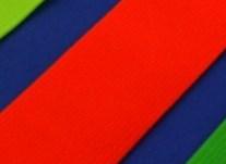 taille-elastiek 4 cm breed: neonoranje /HALVE METER