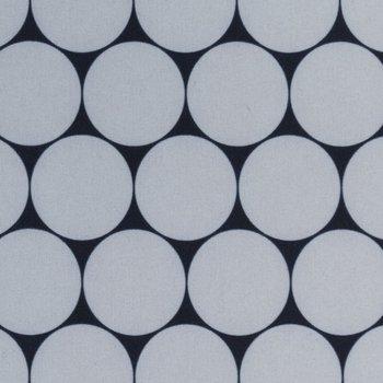 softshell grote rondjes grijs/zwart, winddicht