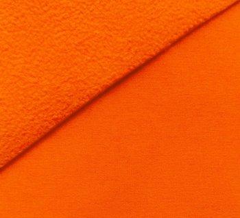 Bora: lichtgevend neon oranje: High-tech softshell: wind- en waterdicht! En toch...