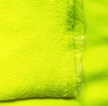 Bora: lichtgevend neon geel: High-tech softshell: wind- en waterdicht! En toch...
