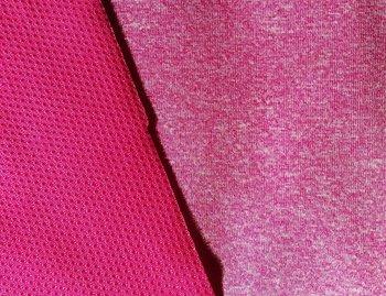 Dunne softshell roze gemêleerd: wind-, waterdicht en ademend!