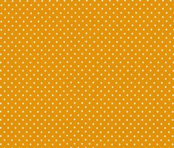 Verena: oker (donker geel) met witte stippen