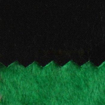 Bora soft: zwart met groene fleecevoering: High-tech softshell: wind- en...