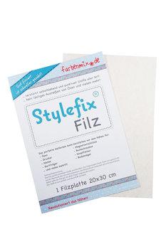 NIEUW!! Stylefix-Filz : zelfklevend sterk dun vilt om uitscheuren te voorkomen!