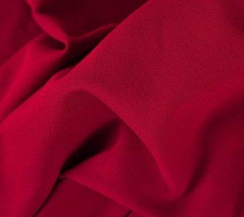 Heike: fijne boordstof mooi intens warm rood (foto is van bijpassende Eike)