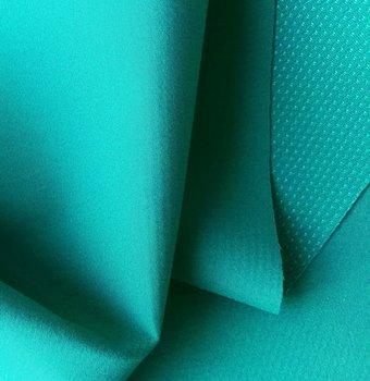 Borax = dunne softshell donkermint/smaragdgroen: wind-, waterdicht en ademend!