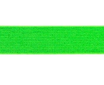 glitter-taille-elastiek lime 2,5 cm breed:  / HALVE METER