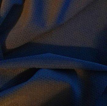 sporttricot high-tech mesh: diepdonkerblauw