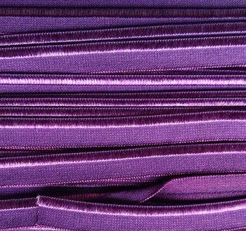 elastisch paspelband, paars