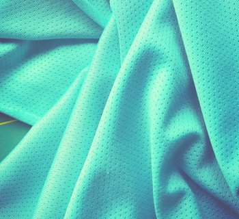 sporttricot high-tech mesh: mint/licht-turquoise