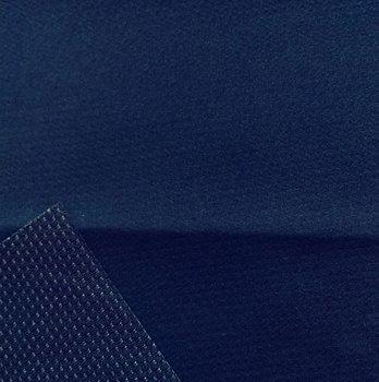 Borax = dunne softshell diepdonkerblauw/marine: wind-, waterdicht en ademend!